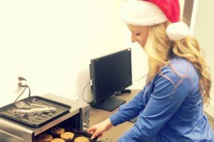 baking-cookies-at-office