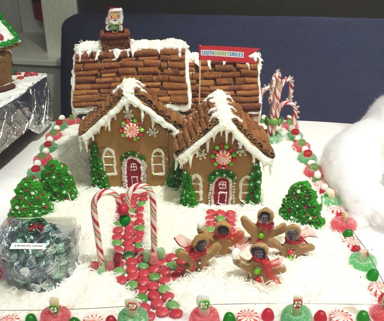 2nd Annual Gingerbread House Contest South Surrey Smiles