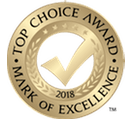 2017 Top Choice Award Mark of Excellence