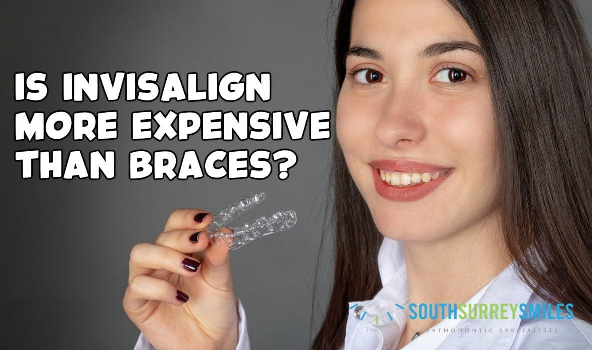 Comparison the cost between Invisalign and braces
